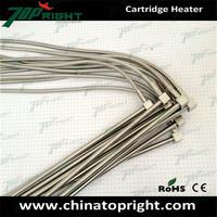dia.3/8inch x6inch 220v/500w 90 degree leads electric heating cartridge heater