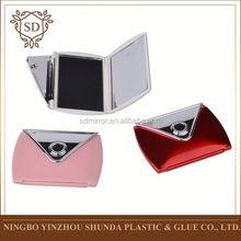 High Quality factory directly foldable handbag table makeup mirror of SHUNDA