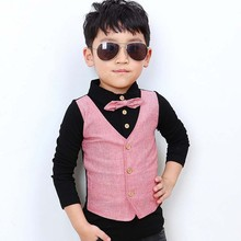 tb1060 kids cotton clothes autumn striped fashion boys gentleman tshirts