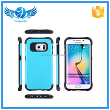 new arrival two in one combination anti shock design case for Samsung Galaxy S6