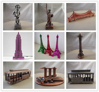 pairs eiffel tower model/mini eiffel tower/eiffel tower souvenir items gift