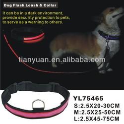 custom led dog leashes