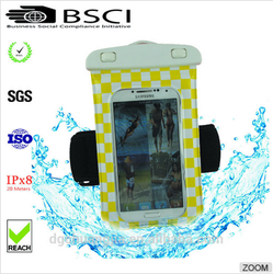 pvc phone waterproof case /waterproof cheap mobile phone case /waterproof phone case