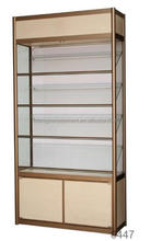 Glass tower retail store furniture display for jewelry