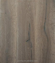 2015 oak multi-layer solid Wood Flooring with UV paint / saw cut