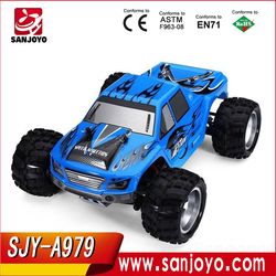 Newest Remote Control toys A979 1:18 whole proportional RC 4WD truck model car with shock system top speed 50KM/H SJY-A979