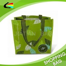 Eco Green Recycle PP Woven Shopping Bag Promotional gift