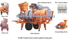 8t/h asphalt batch mixing plant SLHB-8