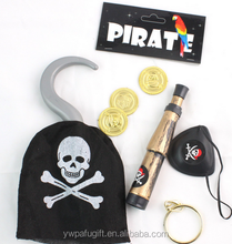 halloween four piece pirate toy set