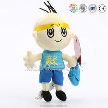 ICTI & ISO audited custom made sewing soft stuffed dolls & unstuffed dolls