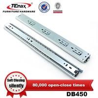 Manufacturer 2-fold adjustable soft closing drawe runner