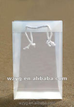 PP/PVC/PET clear hand bag Gift bag Plastic bag