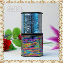 Professional wholesale M-type Multi-color and Blue Film Metallic yarn