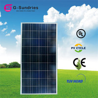 Factory directly sale folded solar panel 190w solar panel kit