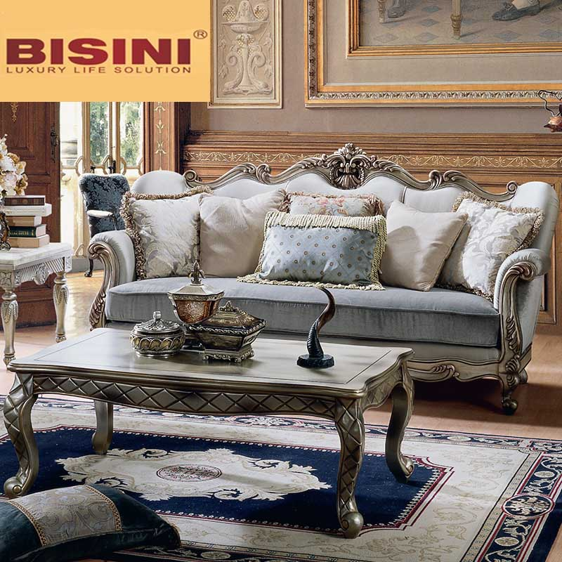 Bisini French Style Fabric Living Room Sofa Furniture Buy Italian Style Sofa Set Living Room