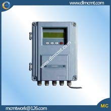 intelligent separate fixed ultrasonic flowmeter has automatic memory for sales