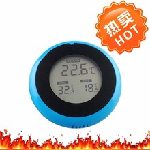 Amzon Hot Selling Made In China Thermometer Adhensive Thermometer Big Round Wall Hanging Max Min TL8050