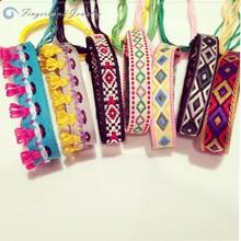 2015 Wholesale Krean Popular Style Bracelet Woven Bracelet with Tassel