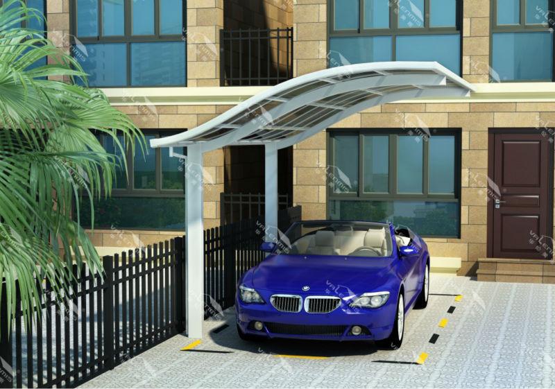Marquesina de acero estructura canopy garaje toldo garajes - Toldos araba ...