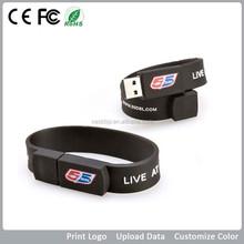 Rubber wristbands external memory usb storage 1gb 2gb 4gb 8gb 16gb 32gb