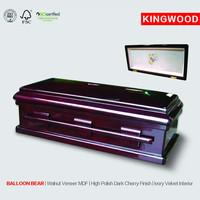 BALLOON BEAR #34 infant casket Baby Lumber Casket