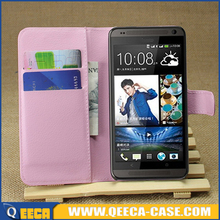 PU leather flip cover case for htc desire 700 mobile phone cover
