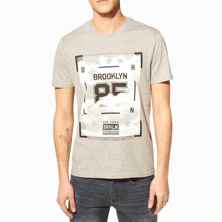 Promotional cheap custom printed slim fit t shirt buy for Where to get t shirts printed cheap