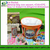 Factory Custom Cloth printed Beer Cooler Ice Bucket For Bar
