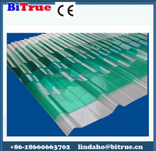 Waterproof polycarbonate plastic sheet roofing