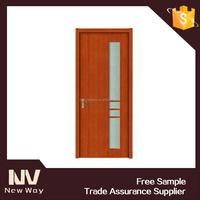 cheap custom wooden exterior glass louver door