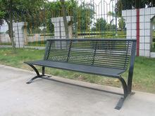 2014 best-sell melody outdoor bench/metal leg garden bench of metal garden furniture