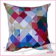 custom digtal printing 100% polyester decor cushion cover