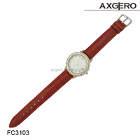 2015 High Quality Beautiful luxury design diamond fashion lady watch
