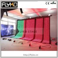 high quality led video curtain play xx movies