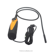 USB Inspection Endoscope Borescope 8.5mm 2MP 6LED Snake Camera Photo Endoscope Borescope adapted with auto inspection pad