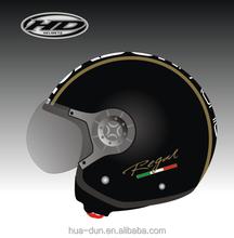 Huadun harley Open Face Motorcycle Helmet red open face motor bike helmet HD-592