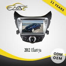 For 2012 hyundai elantra navigation 8 inch car dvd player with bluetooth hands free call