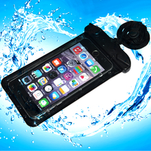 Hot Sale PVC Waterproof Cellphone Phone pouch for Travel