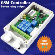 GSM SMS Remote control relay Output Switch (QUAD band,7 Relay Output) PC and APP