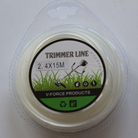 2.mmx15m Clean Round Trimmer Line For Cutting Grass Machine