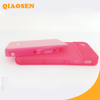 New Arrival PVC + PC Shell For iPhone 4 4s 4g 4c Mobile Phone Case / Cover