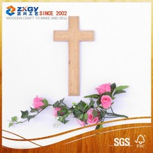 High quality religious item of metal and wood cross