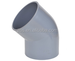 PVC pipe fitting 45 degree elbow for water supply