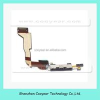 Headphone Audio Jack Power Flex Cable for Apple iPhone 4 4G CDMA Verizon (Black)