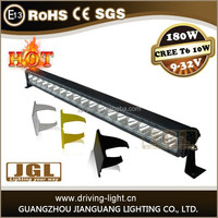 High brightness 20w/40w/80w/140w/180w/220w most powerful led light bar for heavy duty excavator road roller light bar with IP67