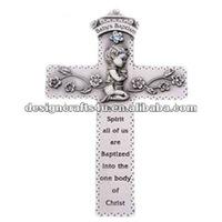 polyresin baptism souvenirs cross