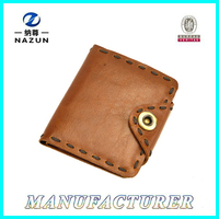 Classic Business Cheap Leather Wallet 2015 Men Holder Case Wallet