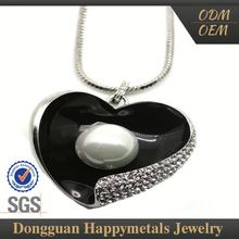 Oem Design Women Necklace Jewelry Usb Flash Drive With Sgs Certification