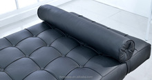 FOSHAN 806# fashionable corner sofa germany living room leather lounge sofa