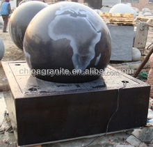 Rotating Fengshui ball water fountain